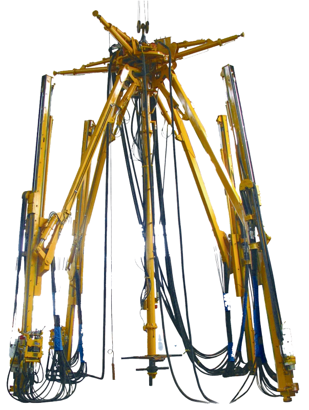 Umbrella Type Drilling Rig